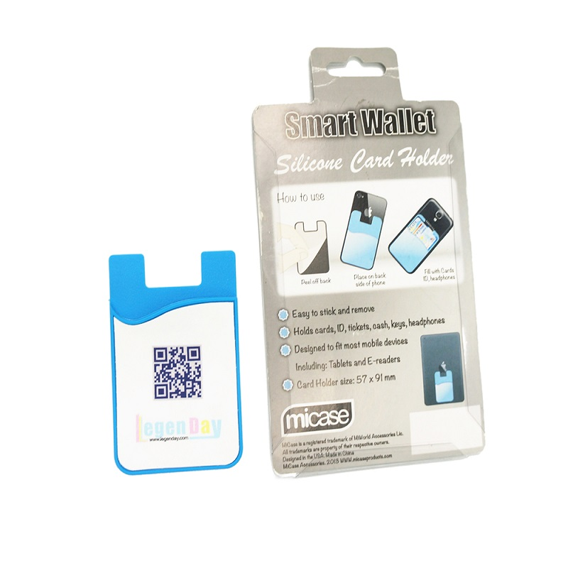 Hot Sale Silicone Mobile Phone Holder Card Sticker