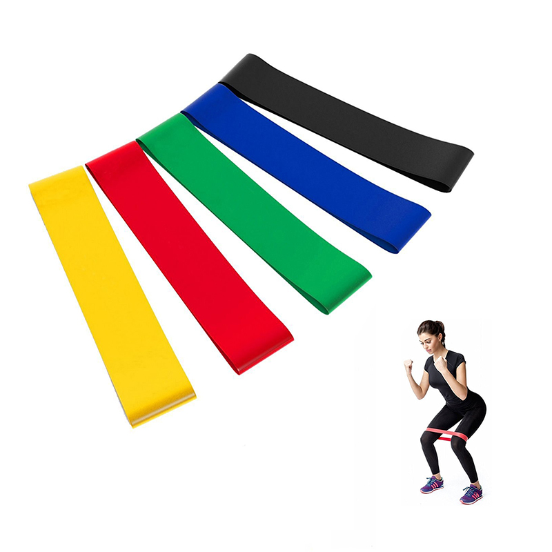 High Elastic Durable Fitness Silicone Exercise Resistance Band
