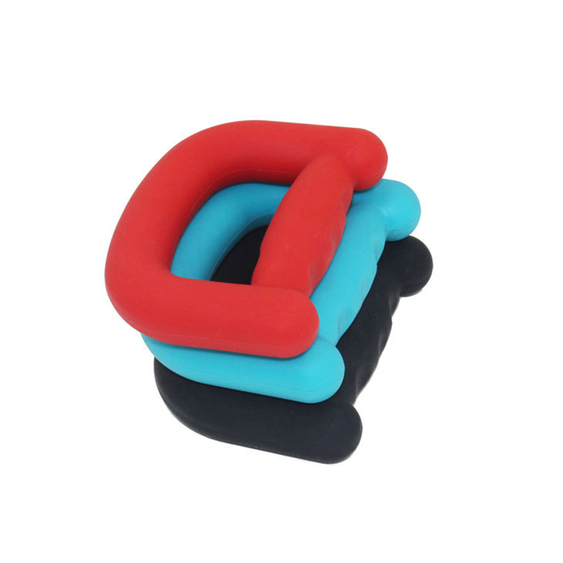 FDA  Antibacterial Exercise D Shape Silicone Hand Gripper Ring