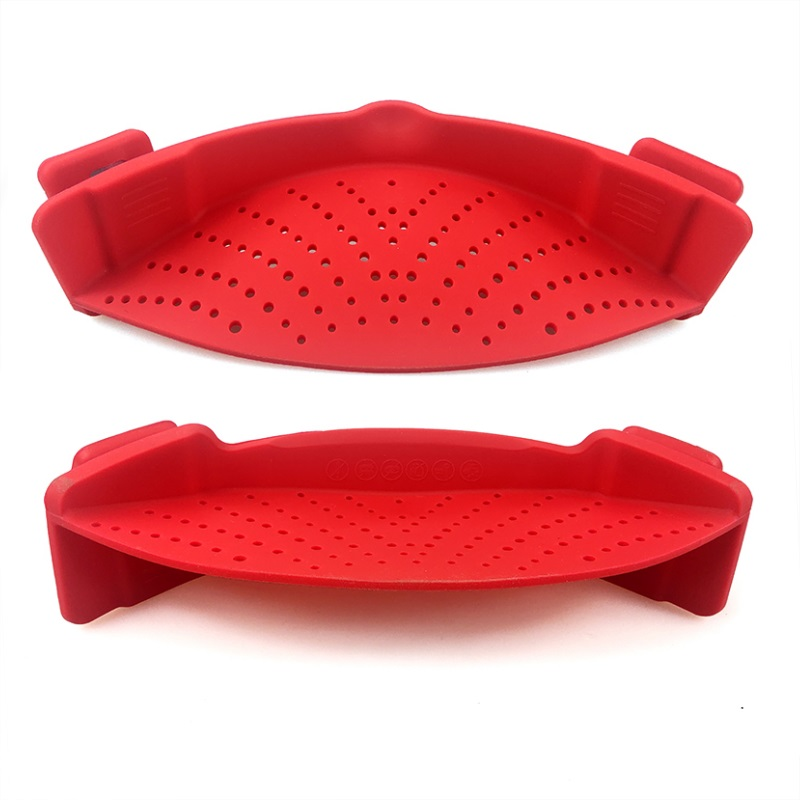 Hottest Kitchen Vegetable Foldable Silicone Water Strainer