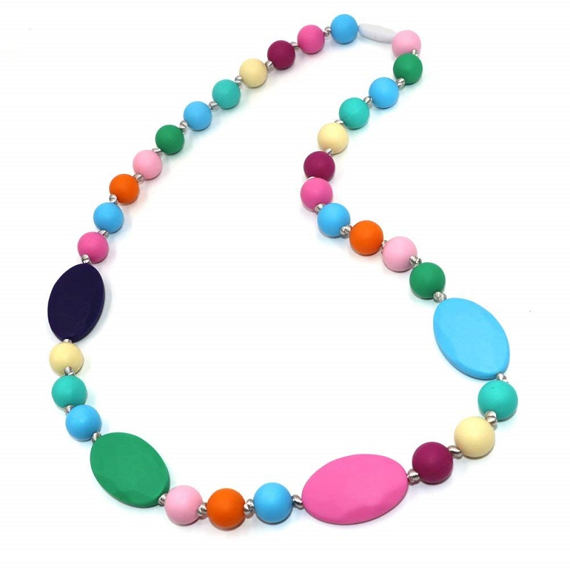 FDA Approval DIY Silicone Teething Necklace for Children