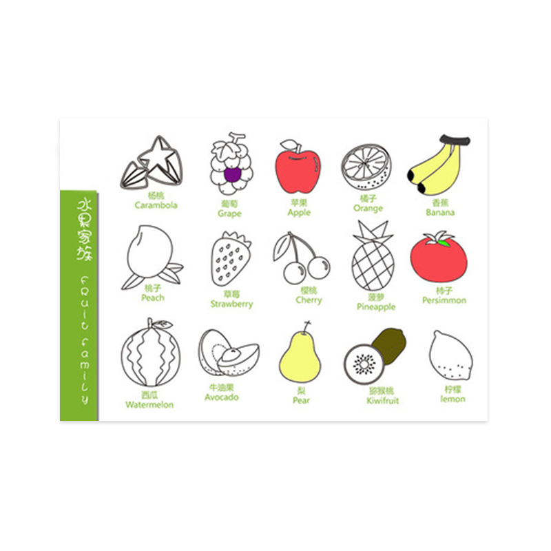 DIY Cartoon Placemat Doodle Customized Silicone Drawing Mat for Kids
