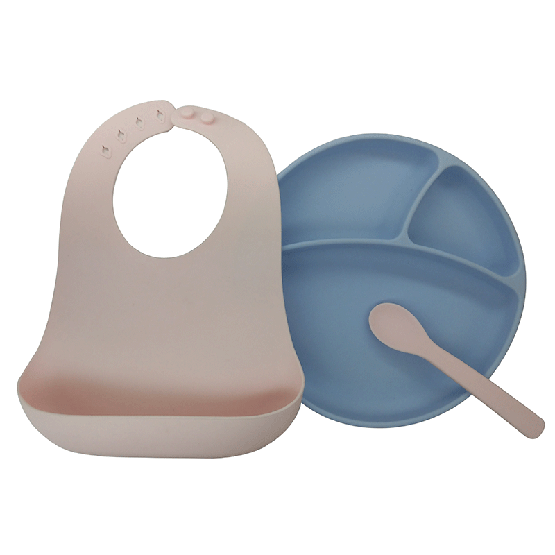 BPA Free Eco-friendly Heat Resistant Baby Easy-Grip Soft Silicone baby training spoon
