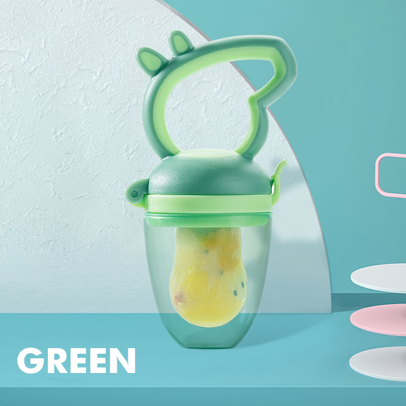 New Designed Professional Baby Food-Grade Silicone  Food Fresh Fruit Feeder Pacifier