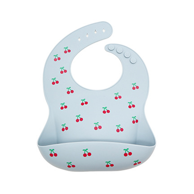 3-Pack Baby Product Safety durable baby feeding plate silicone bib bowl spoon set