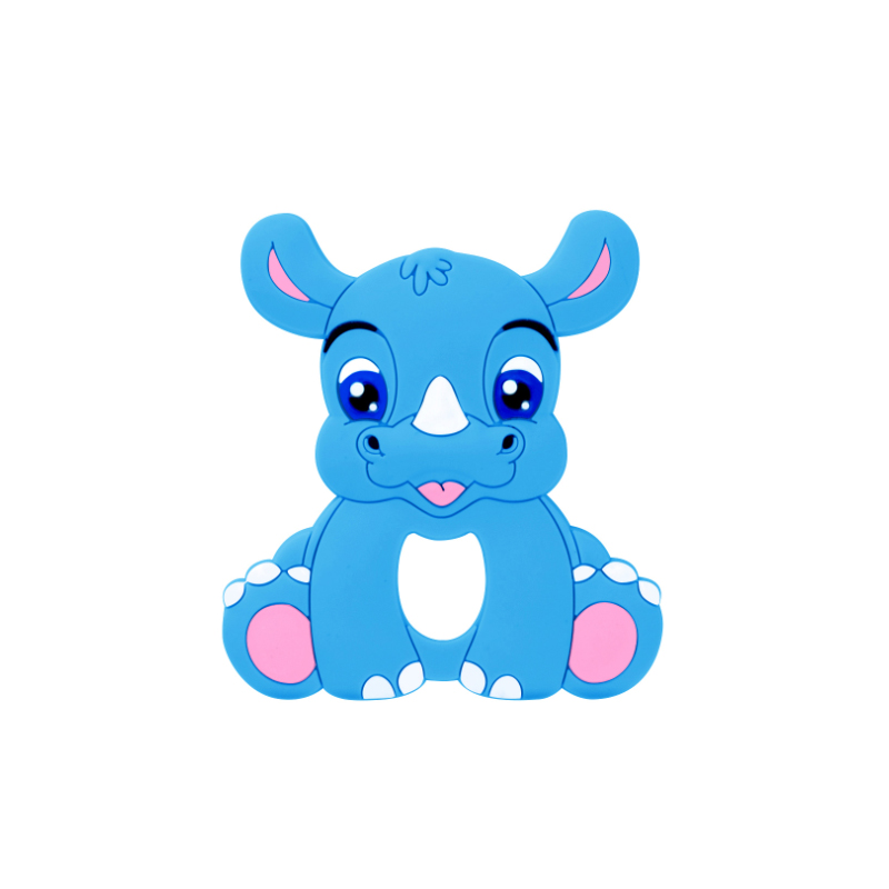 Wholesale bpa free soft reusable silicone baby teether