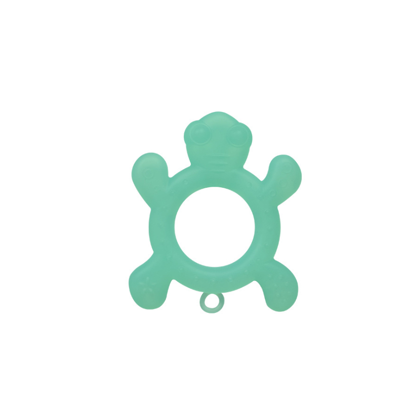 Customized Animal Shape Anti-bacterial Baby Toy Soft Silicone Teether Toy