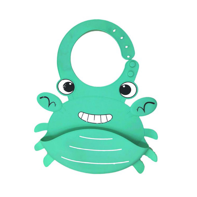 Eco Friendly Safe food grade Silicone Baby Bib suction bowl set with silicone spoon