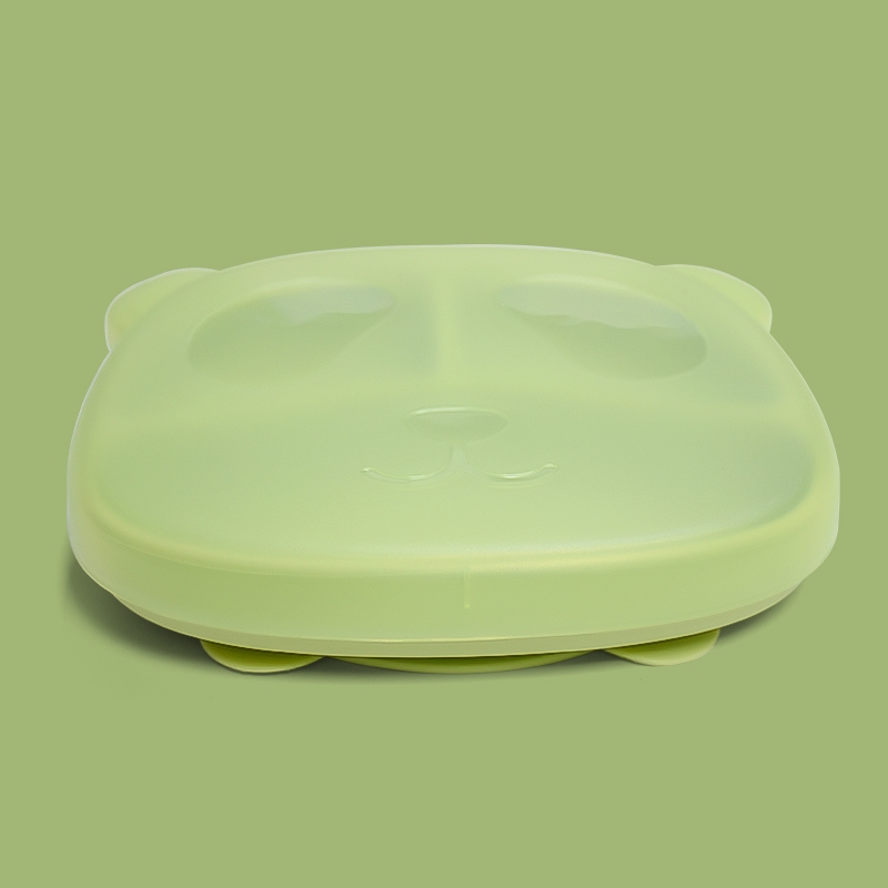 Legenday Wholesale Bpa Free non-slip silicone baby plate funny Baby Feeding Suction plate