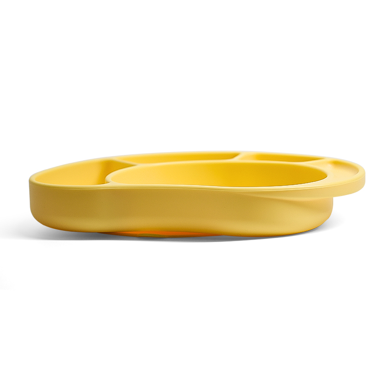 Wholesaler Non Slip Bowl Placemat Children Toddler Silicone Feeding Plate For Baby