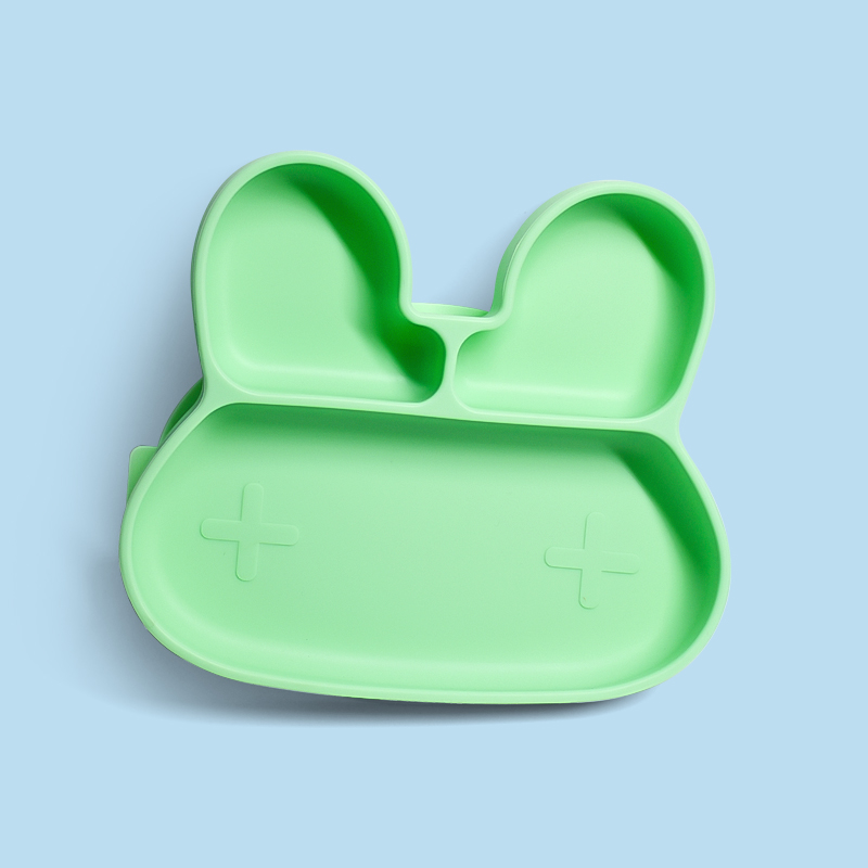 Custom Children Feeding Placemat Bowl Suction Silicone Plate For Baby
