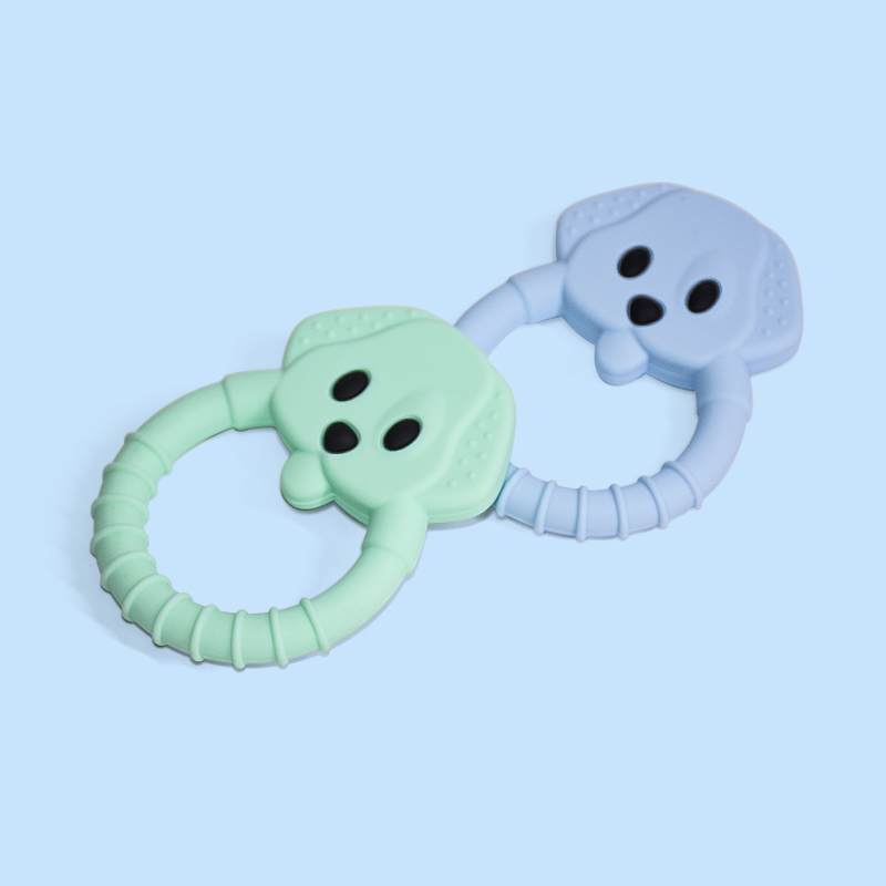 Legenday Hot Sale Bpa Free Food Grade Baby Fruit Teether Teething Toys Funny Silicone Baby Teether