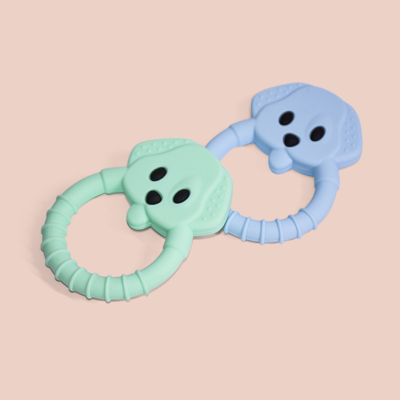 Legenday High Quality Sensory Baby Teether New Infant Teething Toys Non-Toxic Silicone Baby Teether