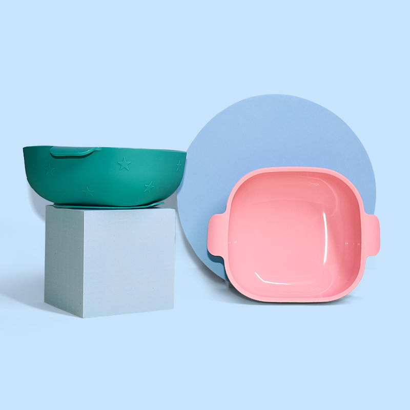 Legenday New Arrival Eco-Friendly Non-Toxic Strong Suction Bowl Food Grade Silicone Baby Feeding Bowl
