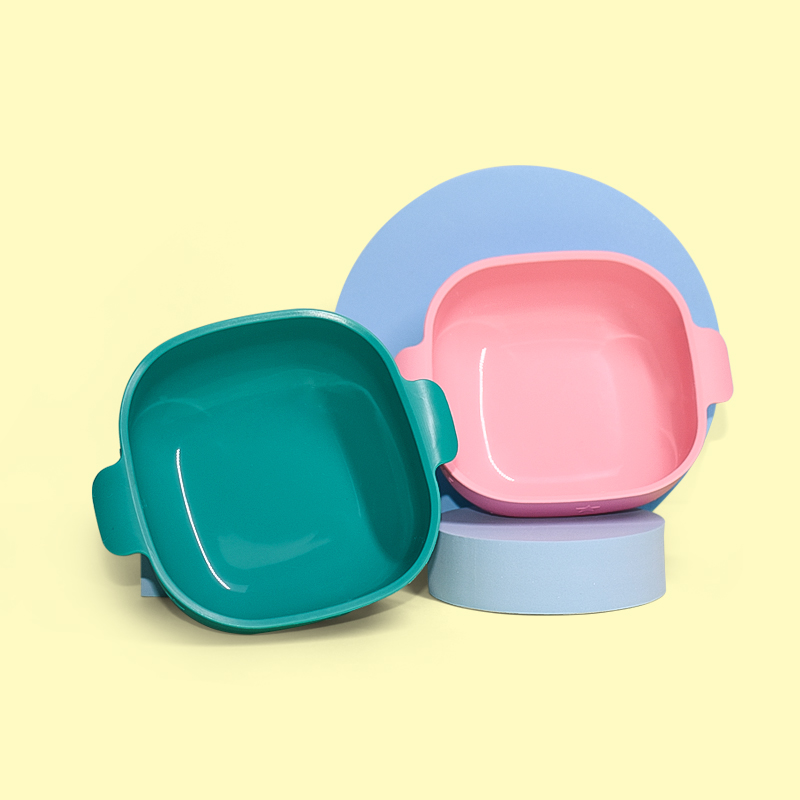 Legenday Amazon Top Seller Heat -Resistant Silicone Baby Bowl Toddlers Feeding Set Suction Baby Bowl
