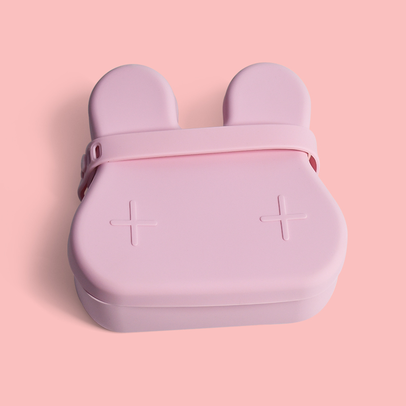 Legenday Bpa Free Silicone Snack Container Bento Box For Kids Lunch Silicon Baby Cartoon Snack Box
