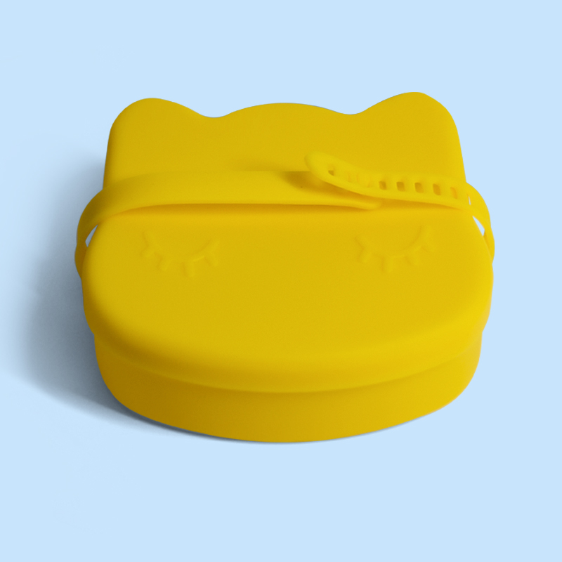 Legenday Eco-Friendly Silicone Baby Snack Cup Safety Baby Silicone Snack Container Snack  Storage Box