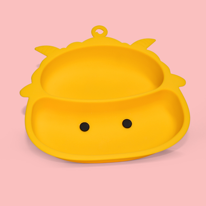 Legenday High Quality Custom Silicone Suction Baby Food Plate Strong Suction Non-Slip Food Grade Silicone Baby Plates