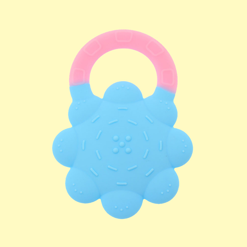 Legenday Bpa Free Eco-Friendly Safe Baby Teether Toys Food Grade Silicone Chew Teether Ring