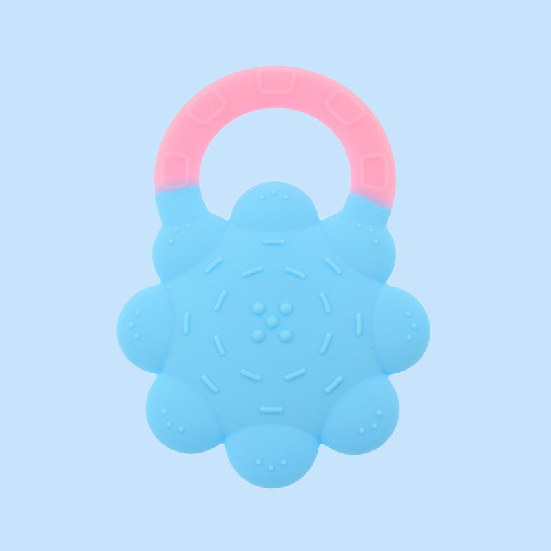 Legenday Custom 100% Food Grade Silicone Baby Vegetables Teether Toy Non-Toxic Newborn Teething Ring