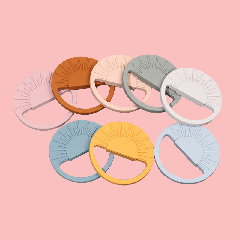 Legenday Eco Friendly Cartoon Baby Silicone Teether Funny Food Grade Silicone Chewing Teething Toys