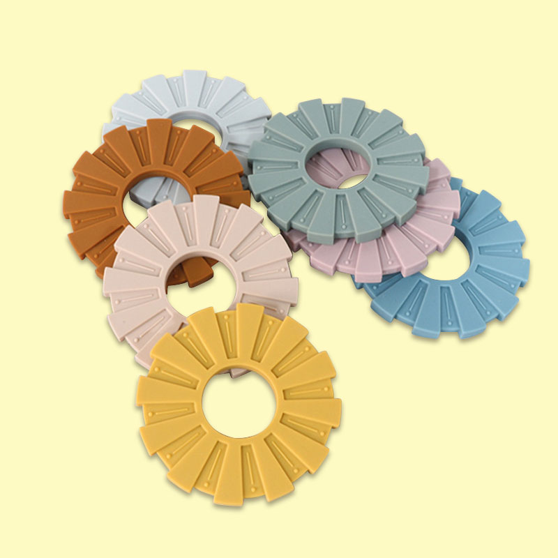 Legenday New Design Safe Natural Sensory Teething Toys Soft Bpa Free Food Grade Silicone Baby Teether