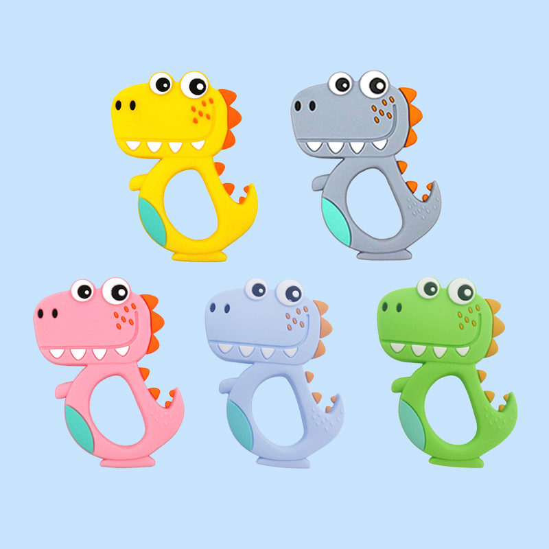 Legenday Personalized Baby Chewing Teething Toys Food Grade Silicone Teether Toys