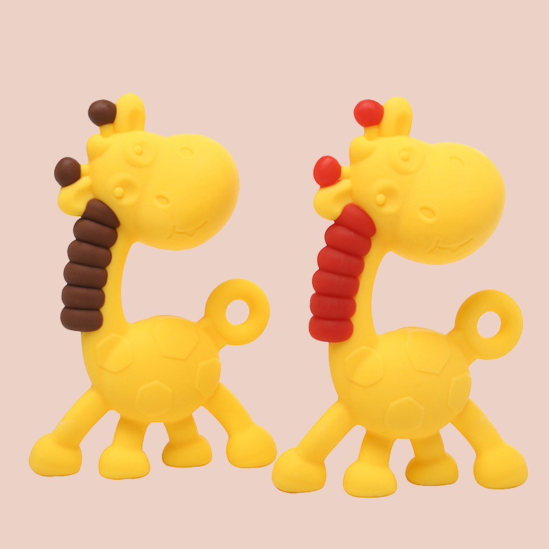 Legenday Hot Selling Bpa Free Food Grade Cute Silicone Teether Teething Chew Toy