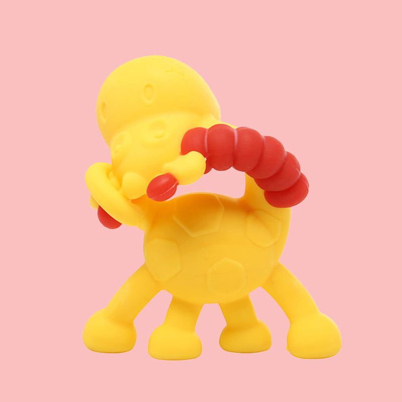 Legenday Amazon Baby Silicone Chew Teether Animal Colorful Teething Chewing Toys