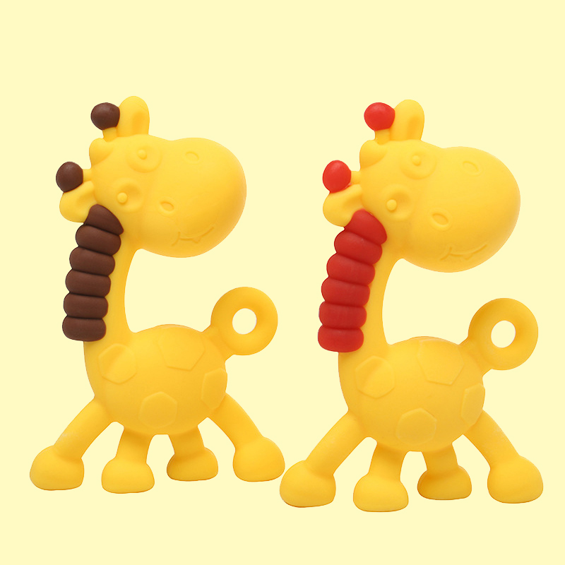 Legenday Customized Food Grade Animal Silicone Baby Soothing Teether Toys