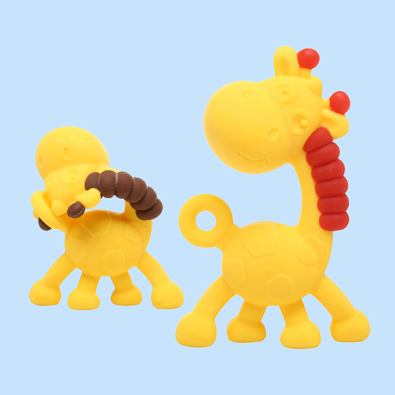 Legenday New Arrival Safe Food Grade Silicone Teether Toys Baby Teething Toy