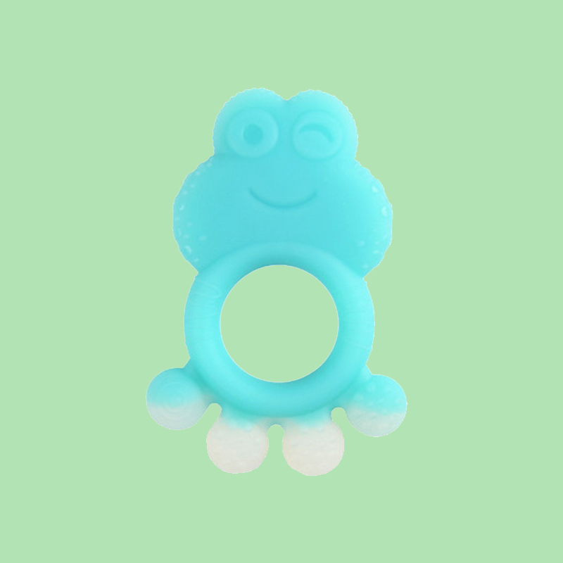 Legenday Arrival Non-Toxic 100% Food Grade Bpa Free Silicone Baby Teething Chew Teether