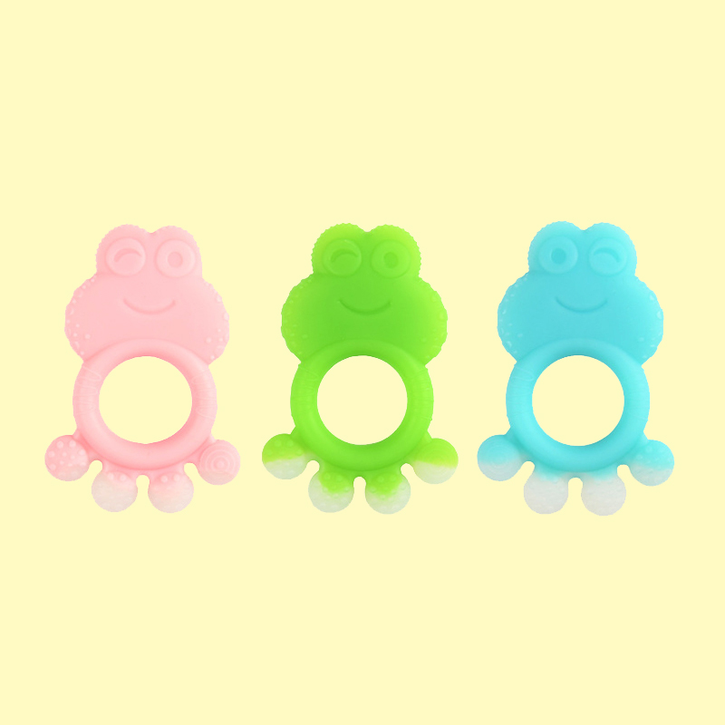 Legenday New Design Sensory Baby Teething Toys Soft Bpa Free Food Grade Silicone Teether