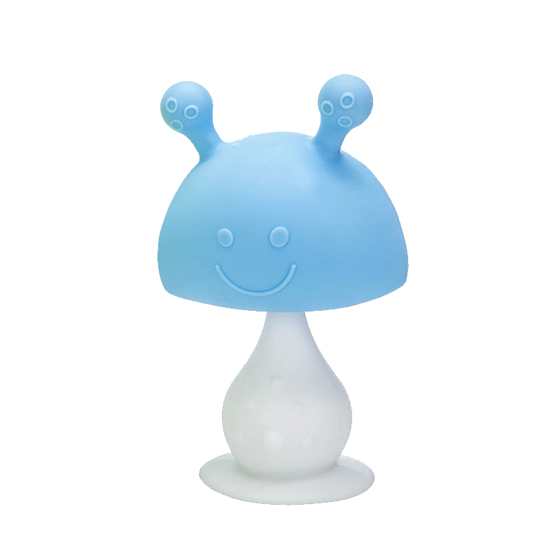 Legenday Wholesales Silicone Baby Teething Infant Toys Mushroombpa Free Baby Chewing Teethers