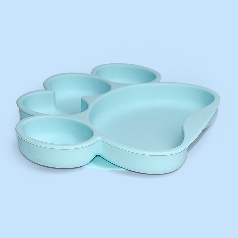 Legenday Wholesale Suction Divided Food Grade Silicone Toddler Feeding Plate Bpa Free Baby Dinner Plate Set