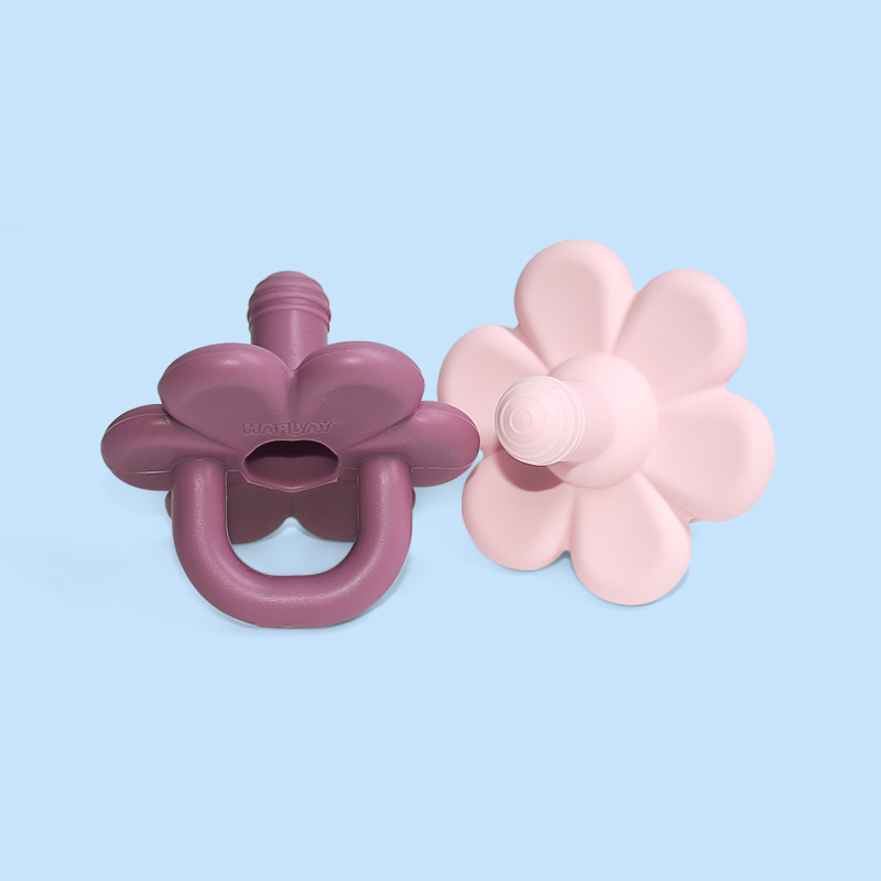 Legenday New Design Bpa Free Food Grade Silicone Funny Nipple Dummy Flower Pacifier Baby Soother